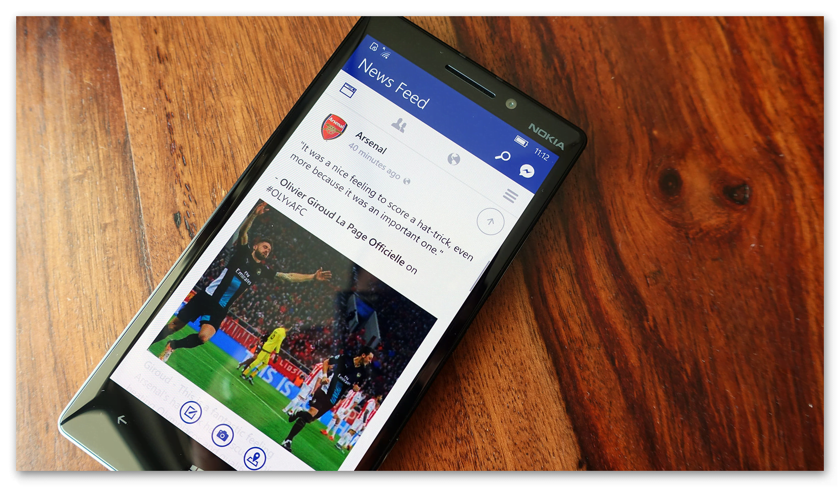 Картинка Facebook на Windows Phone